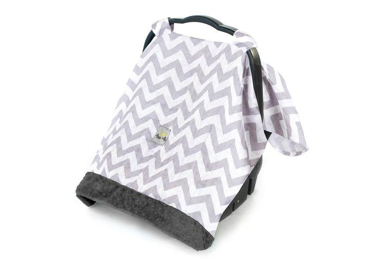 Cozy Happens Infant Car Seat Canopy & Tummy Time Mat