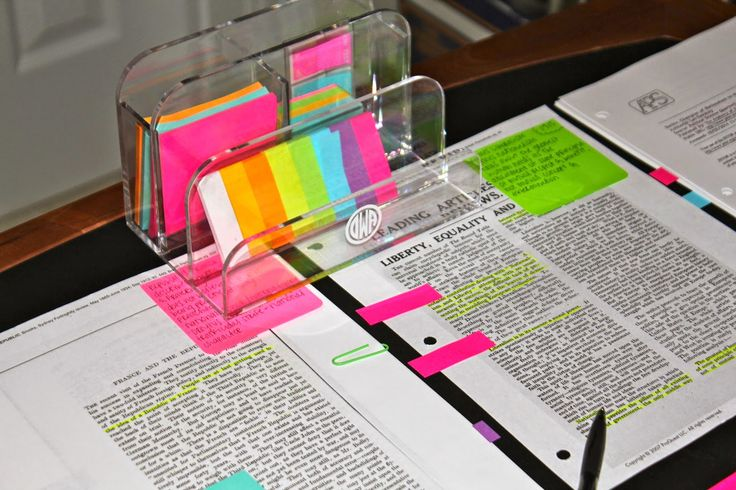 Prep In Your Step: Research Paper Tips With The Post-it Study Collection