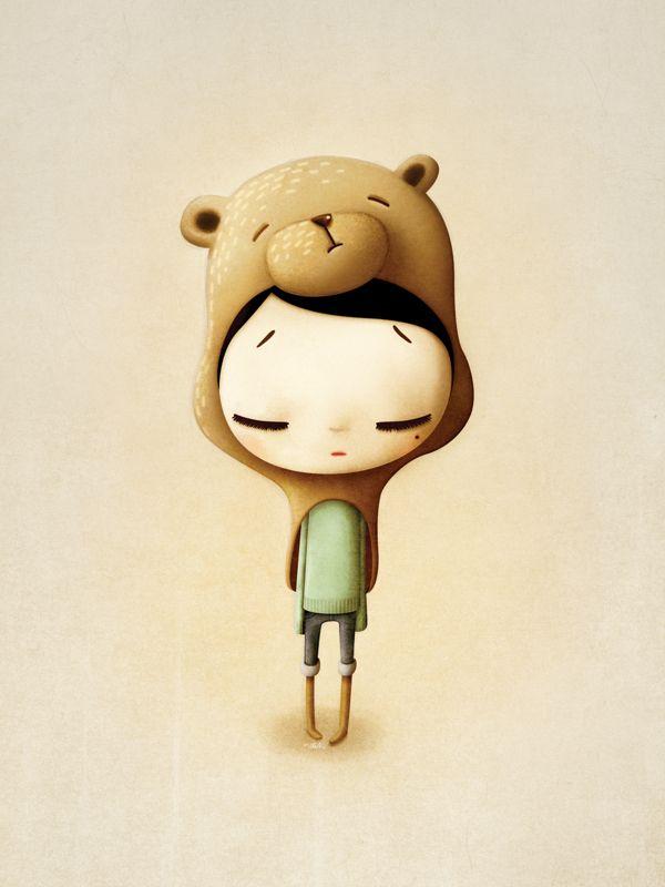 Teddy is dead by Marie Breuer, via Behance