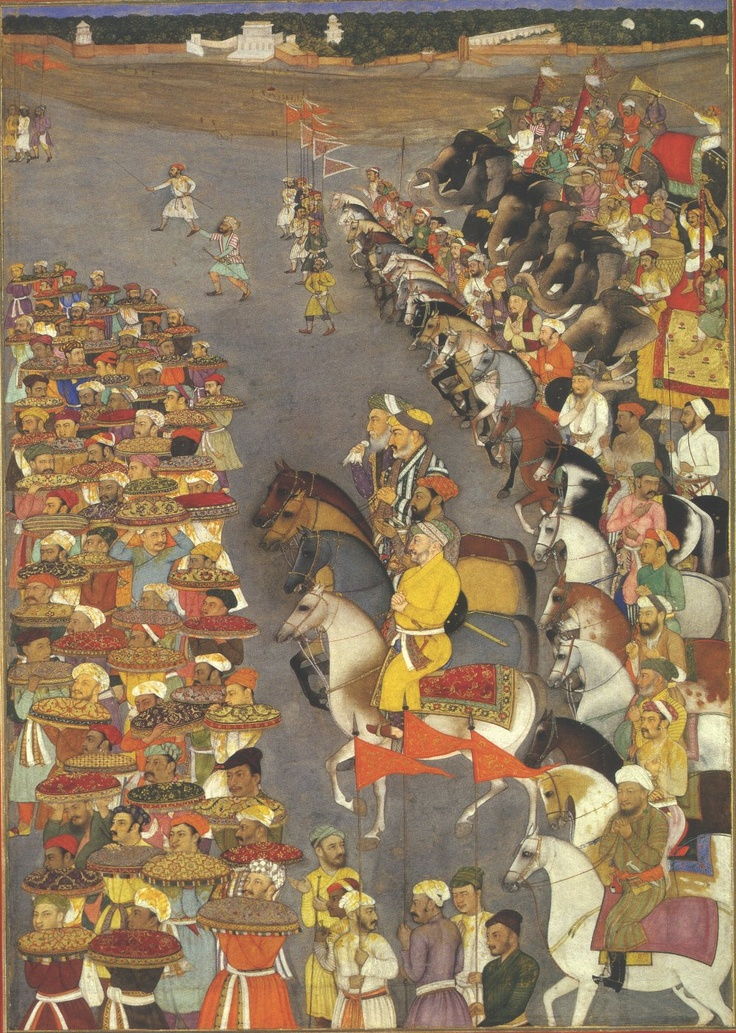 The Wedding Procession of Shah Jahan's Eldest Son, Dara Shikoh.