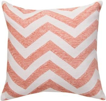 """TLKCRL 18"""" x 18"""" Kiki Collection Coral Tapestry Pillow                                                        contemporary"""