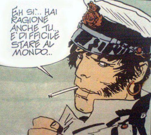Corto Maltese by Italian comic book creator, Hugo Pratt    (1) Coups de cœur   Tumblr