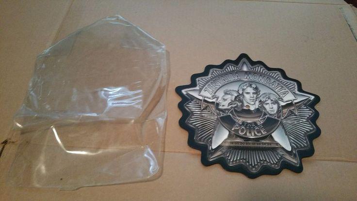 "The Police - LTD Edition Badge Shape USA 10"" Picture Disc Zenyatta Mondatta 45"