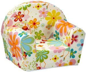 Sun Garden 10093234 Ludger - Poltroncina per bambini, decorazione: fiori, colore: Bianco: Amazon.it: Casa e cucina