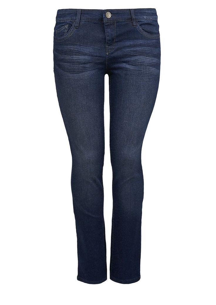 """Jeans 3D-Sitzfalten-Effekte und authentische Waschung. Klassische 5-Pocket-Form mit Reißverschluss. Figurbetonte Passform """"Kurvig"""" mit leicht vertieftem Bund und schmalem Bein für eine ausgeprägte Hüfte, einen runden Po und stärkere Oberschenkel. Weiche, elastische Denim-Qualität. Ein vielseitiger Allrounder, der in keinem Kleiderschrank fehlen sollte..  Materialzusammensetzung:Obermaterial: 92..."""