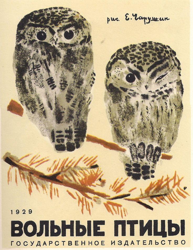 Free bird, cover, Eugene Charushin 1929