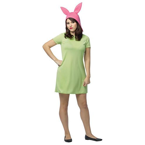 FREE SHIPPING AVAILABLE! Buy Bob's Burgers: Louise Adult Green Dress Costume at JCPenney.com today and enjoy great savings. Available Online Only!