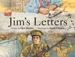 jim's letters  ANZAC Day books