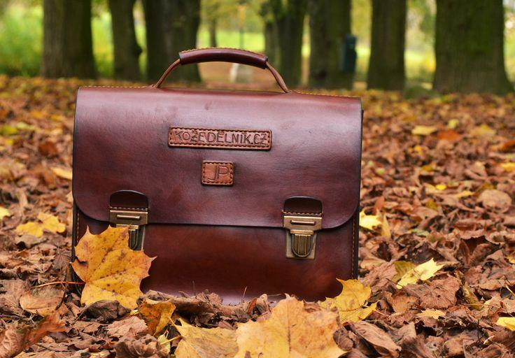 Kožedělnická aktovka / Leather satchel