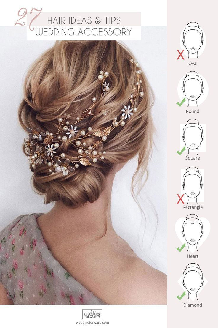 27 Lovely Wedding Hair Accessory Ideas & Tips ♥ Want to add something beautiful to your wedding look? See our collection of wedding flower crowns & hair accessories which was made to inspire you! #wedding #bride #weddingforward #weddinghairaccessory