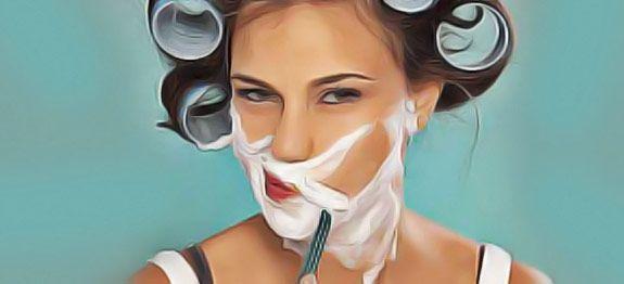 """Poils et duvet indésirables au visage ? Les remèdes simples, naturels et efficaces pour se débarrasser de la pilosité faciale. Fini l""""hirsutisme !"""
