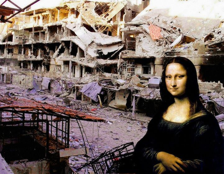 I, The Syrian by Tammam Azzam | the dancing rest