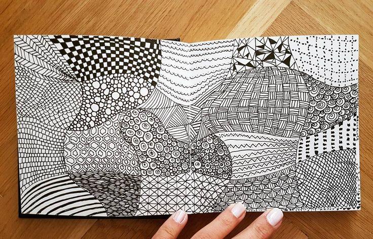 (@_barboring) #illustration #drawing #doodle #art #sketch #sketchbook #pattern #patternart #barboring