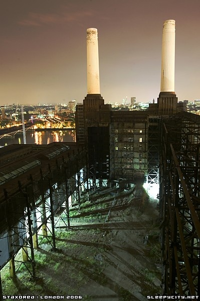 Very iconic.Battersea Power Station, Giles Scott