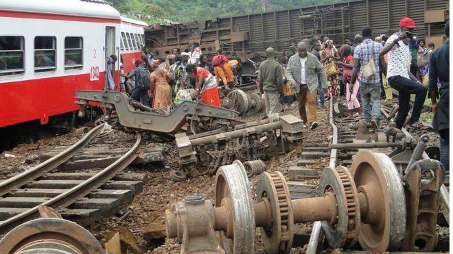 Cameroon train crash death toll tops 70 - http://thehawk.in/news/cameroon-train-crash-death-toll-tops-70/
