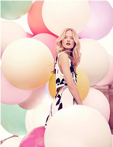#pastel #PINK #balloons #colors