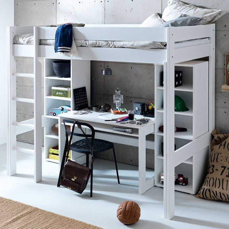hochbett beverli mit schreibtisch 4 teilig kinderzimmer pinterest kids rooms bunk bed. Black Bedroom Furniture Sets. Home Design Ideas
