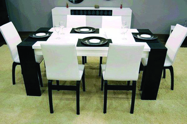 Cheap Dining Room Sets Black White Dining Room Modern Dining