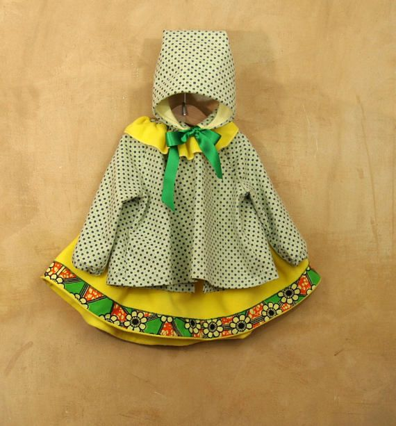 Jellow toddler girls set 3T, baby girl outfit: Blouse skirt and bonnet, unique mexican fahion baby dress infant girl clothes made in Italy