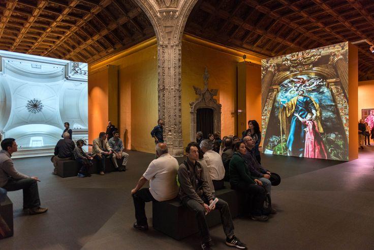 Audiovisuales de la exposición.