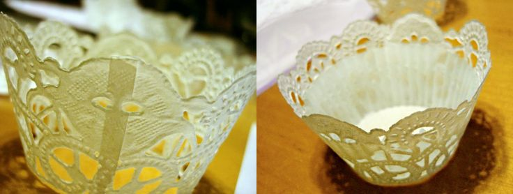I Need a Craft Room: Doily Cupcake Liners
