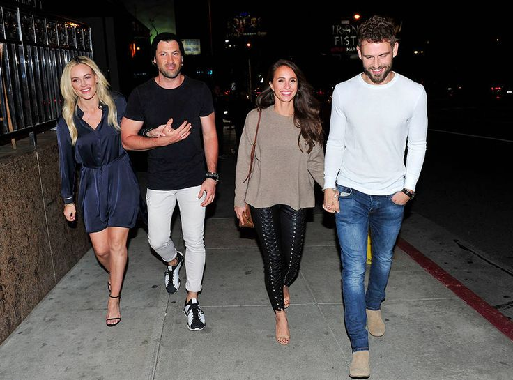 The Bachelor Meets DWTS! Nick Viall & Vanessa Grimaldi Step Out for Double Date With Peta Murgatroyd & Maks Chmerkovskiy - https://blog.clairepeetz.com/the-bachelor-meets-dwts-nick-viall-vanessa-grimaldi-step-out-for-double-date-with-peta-murgatroyd-maks-chmerkovskiy/
