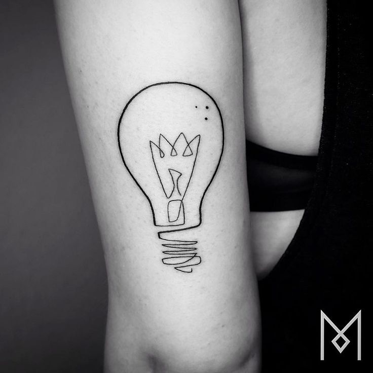 Minimalist Single Line Tattoos By Iranian-German Artist (55 Pics)