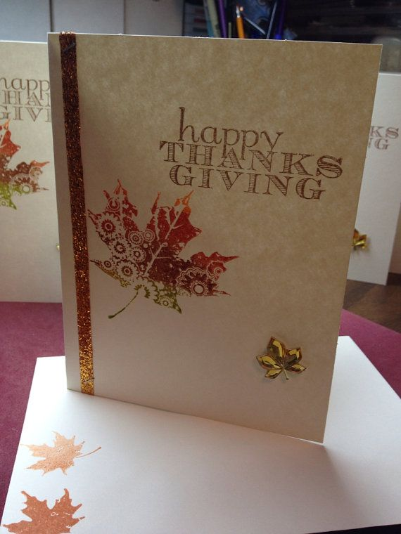 17 best ideas about thanksgiving greeting cards 2017 on for Elegant homemade christmas cards