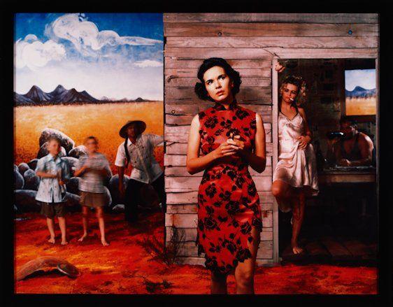 Tracey Moffatt, Something More One 1989, type C photograph, 100.5 x 121.5  cm