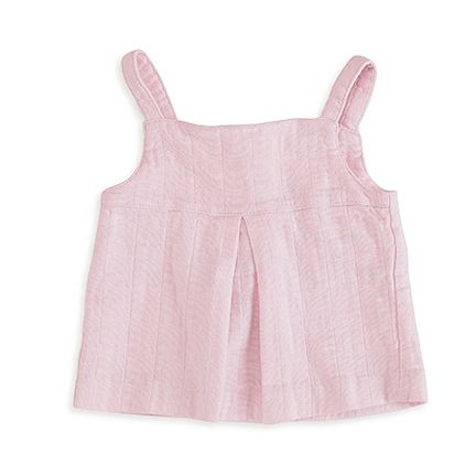 lovely solid pink smock top | aden + anais USA