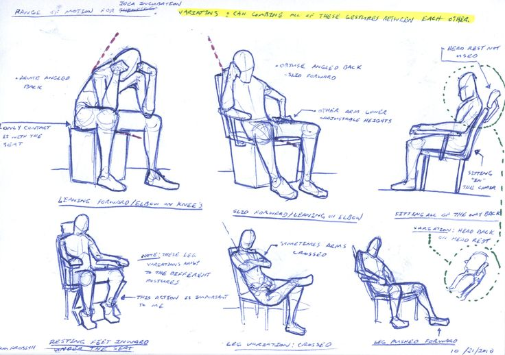 different sitting positions - Google Search