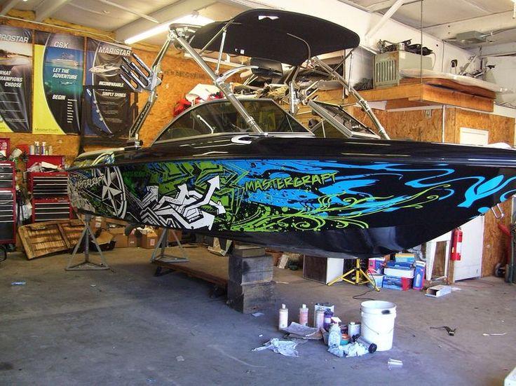 Best Boat Wraps Custom Vinyl Images On Pinterest Boat Wraps - Custom vinyl decal stickers for boats