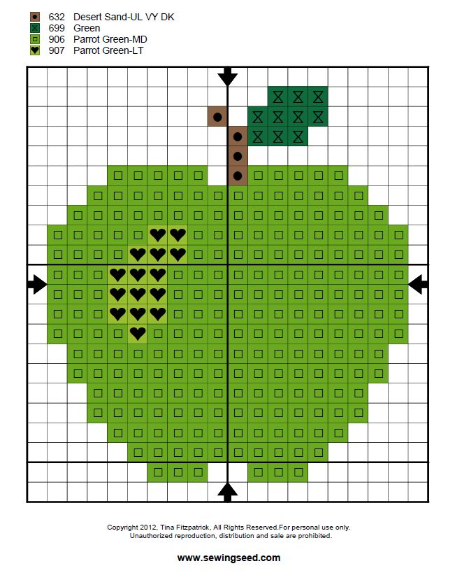 Sewingseed: How do you cross stitch anyway? - The Complete Tutorial
