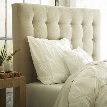 I love the Tall Grid Tufted Headboard on westelm.comWestelm, Grid Tufted, Guest Bedrooms, Tufted Headboards, Master Bedrooms, Upholstered Headboards, Beds Headboards, Tall Grid, West Elm