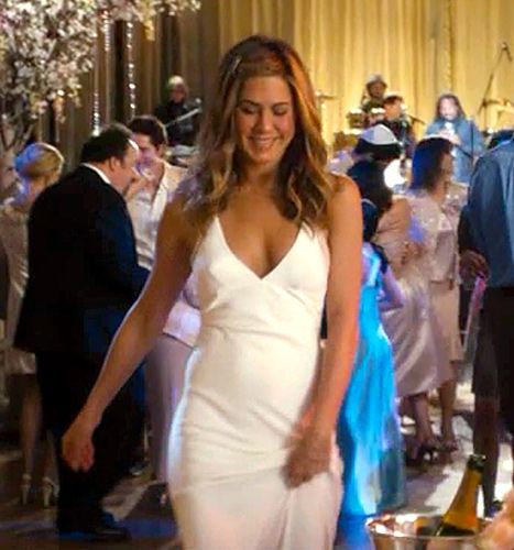 Jennifer Aniston's wedding dress in Just Go With It