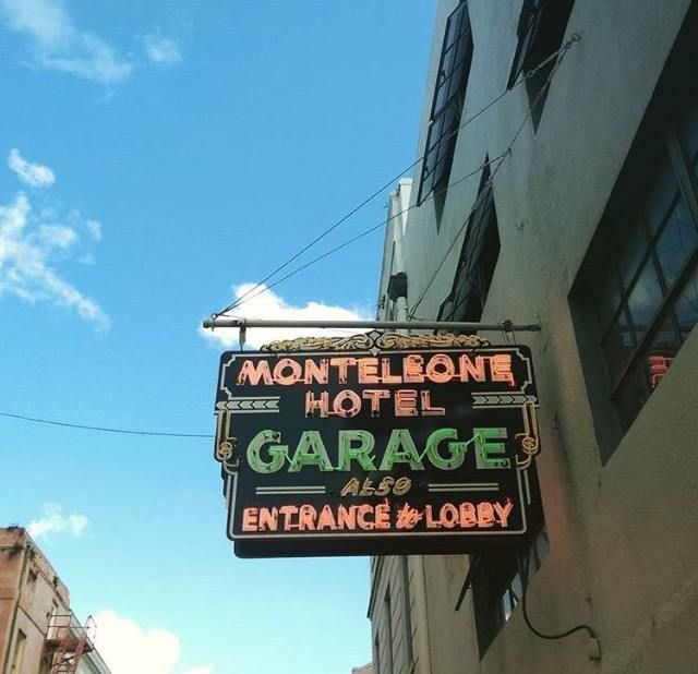 There's no better feeling than pulling up to the Hotel Monteleone. (Photo by @whackery_quackery via Instagram)