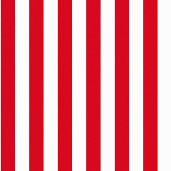 Nice and bright! Red stripe from Marimekko Essentials by Galerie - 13045