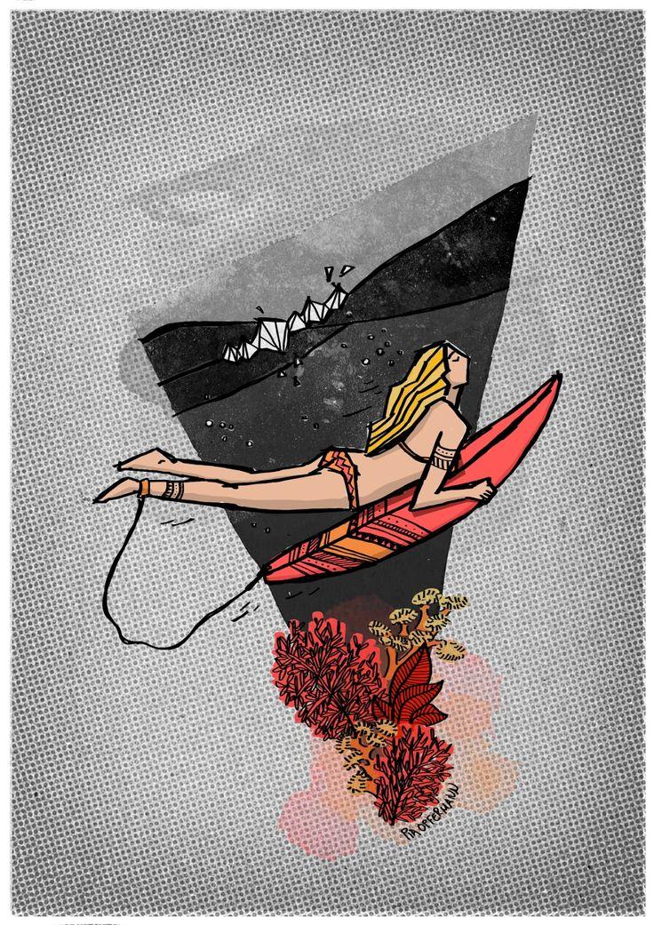 El surf art de Pia Opfermann | Uno de los nuestros
