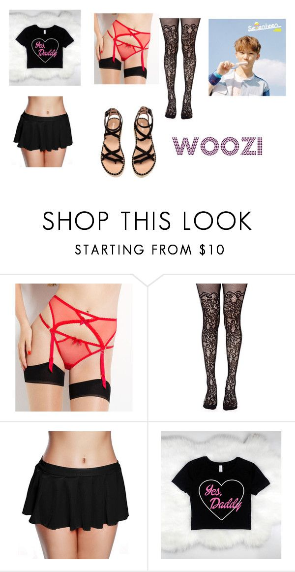 """""""Roupa Woozi - 2"""" by carinemarquesgames on Polyvore featuring L'Agent By Agent Provocateur e Leg Avenue"""
