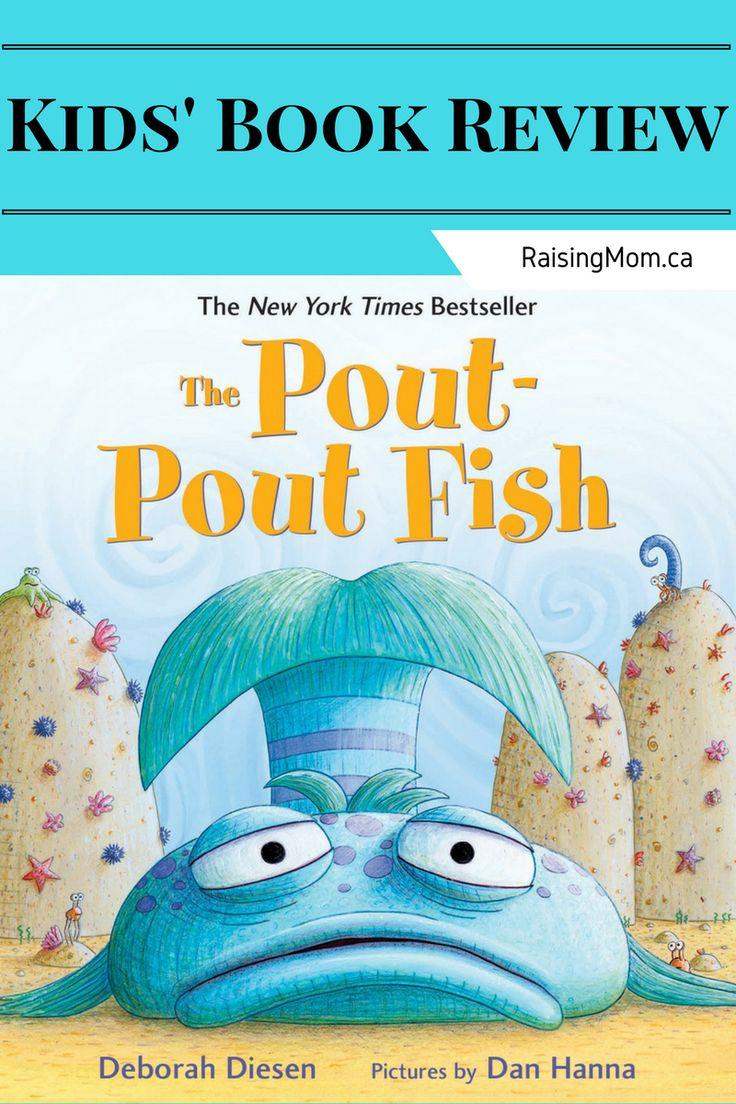 The Pout-Pout Fish by Deborah Diesen | Kids book review | children's book | picture book | board book | raisingmom.ca | emotions | feelings | kind | kindness