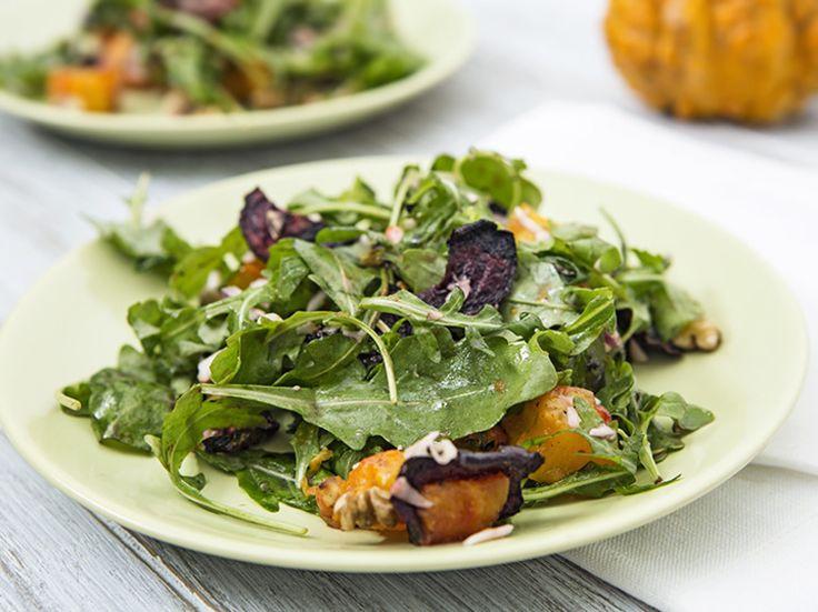 DIY-Anleitung: Kürbis-Salat mit Rote Bete zubereiten via DaWanda.com