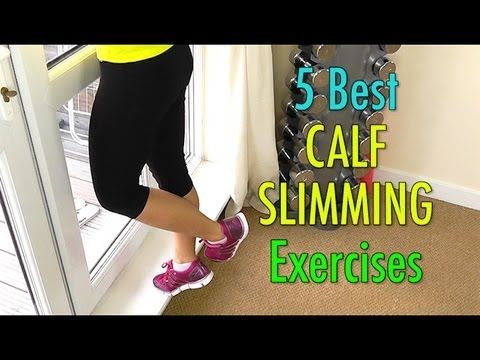 5 Best Calf Slimming Exercises (Not Bulky!) - http://www.takecontrolofmyhealthandfitness.com/5-best-calf-slimming-exercises-not-bulky/