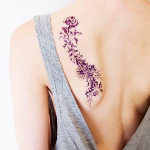 paperself paper tattoo art tatoo pinterest tattoo ideen blumen und leben. Black Bedroom Furniture Sets. Home Design Ideas