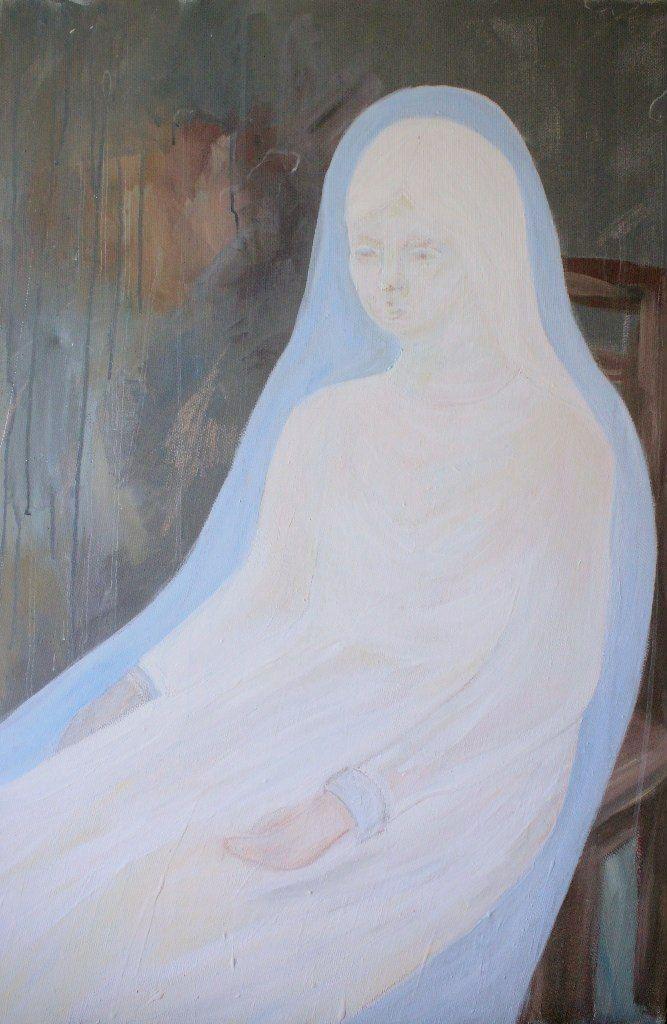 Gushtyuk Julia acrylic on canvas Silence