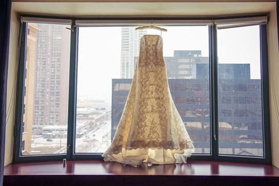 """You will most likely try on many wedding dresses in your search for """"the one"""". When attending your appointment, you should consider wearing a strapless bra and underwear that won't present any lines.  #weddingdress #wedding #weddinggown #ravenluxuryevents #torontoweddingplanner  Photo Source: https://www.flickr.com/photos/125349110@N05/17043714320/"""