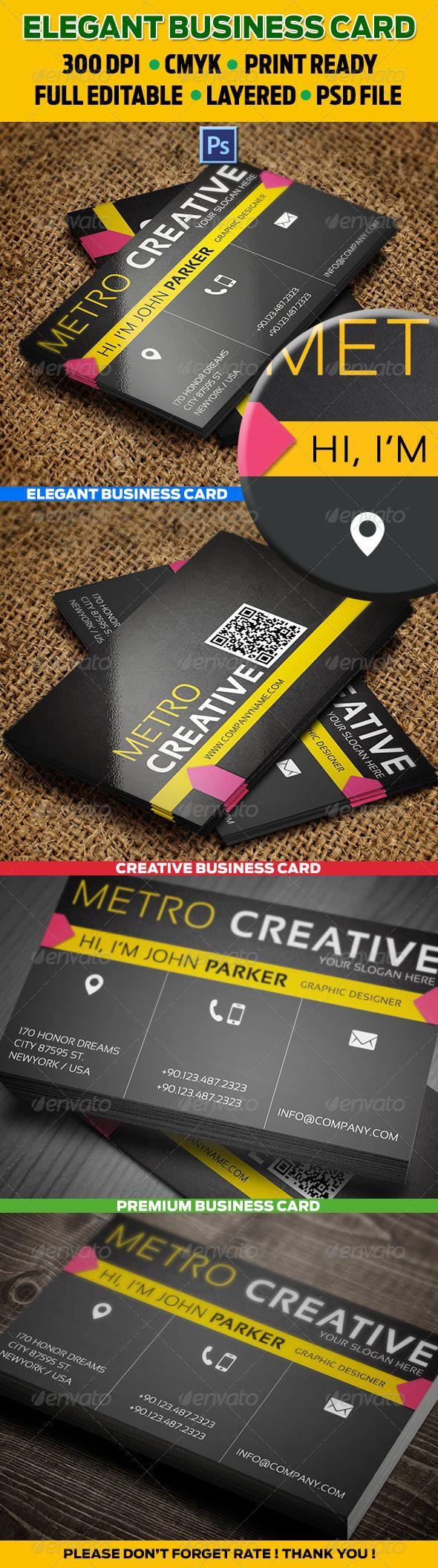 112 best print templates images on pinterest modelos de impresso creative business card 53 reheart Gallery
