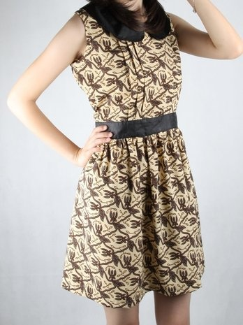 Heartography Lessons Batik Dress
