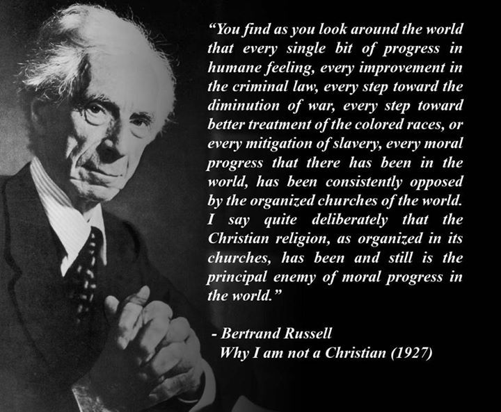 bertrand russell essay why i am not a christian Why i am not a christian an examination of the god‐idea and christianity bertrand russell [march 6, 1927] [the lecture that is here.