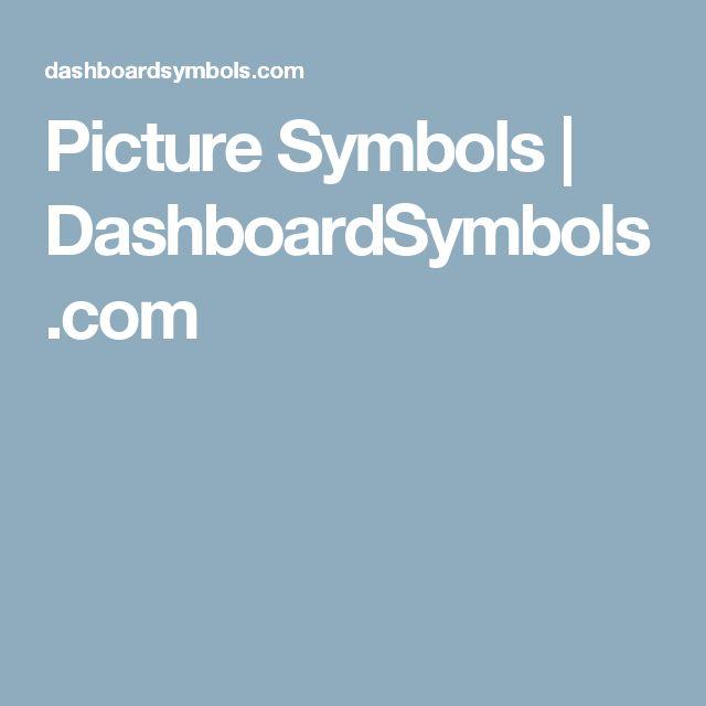 Picture Symbols | DashboardSymbols.com