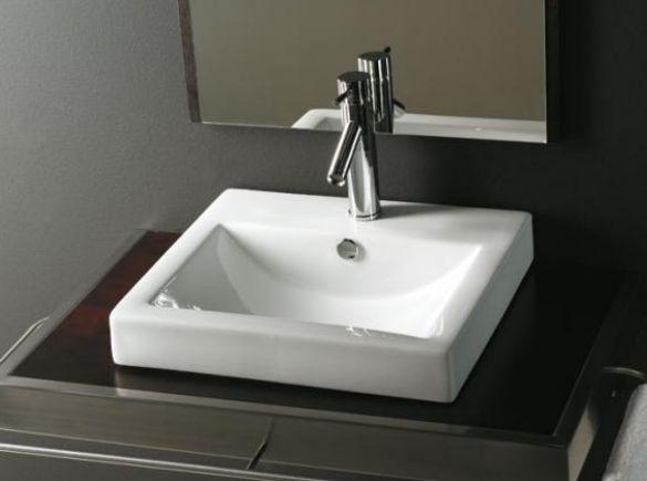 Lavabo Sobre Encimera Capri De Bathco · CapriSinksBathroom ...